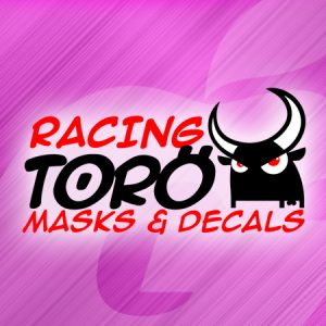 Racing Toro Masks and Decals