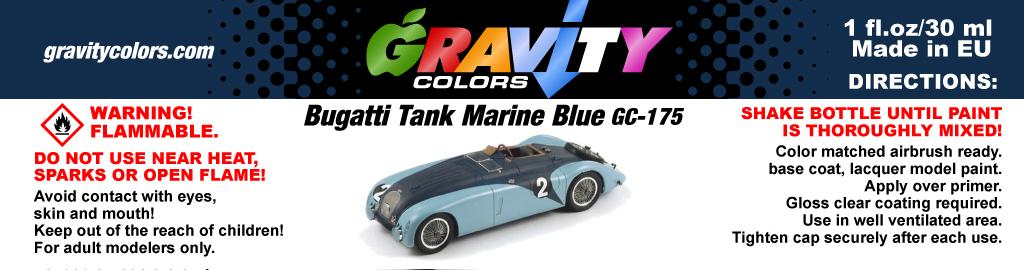 Bugatti Tank Marine Blue